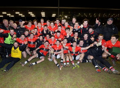 The UCC squad that won last year's Sigerson Cup.