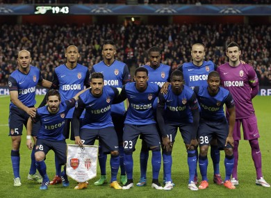 Monaco outclassed Arsenal in the first-leg meeting between the sides.