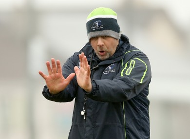 McFarland has been a member of Connacht's backroom staff since 2006.