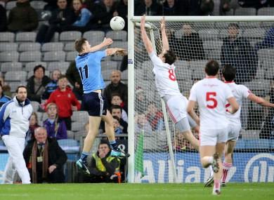 Dean Rock bagged Dublin's crucial goal tonight.