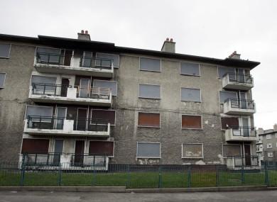 O'Devaney Gardens flats.