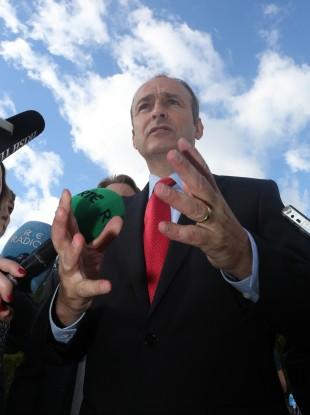 Micheál Martin needs more blue skies for Fianna Fáil in the months ahead.