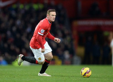 Wayne Rooney is expected to remain up front against Newcastle.