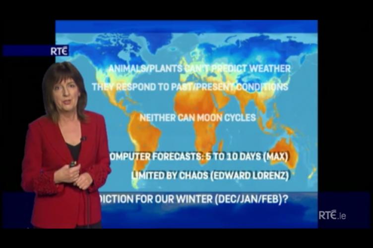 ireland weather forecast