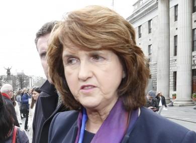 Tánaiste and Minister for Social Protection Joan Burton