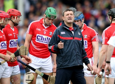 Jimmy Barry-Murphy has rung the changes for Cork match.