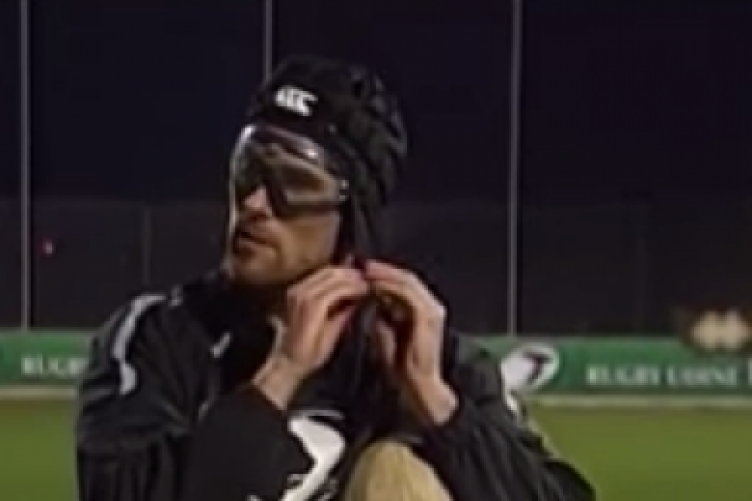 8cc3b69e54 Ian McKinley will play for the Barbarians four years after losing sight in  one eye