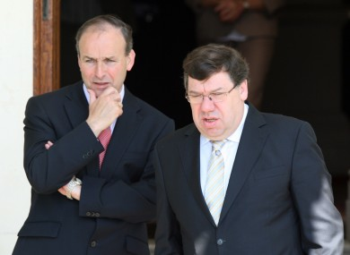 File photo of Martin and Cowen