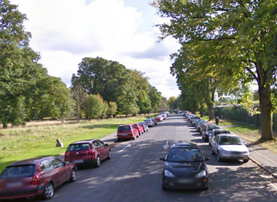 The North Road in the Phoenix Park.