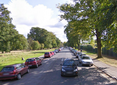 North Road in the Phoenix Park.
