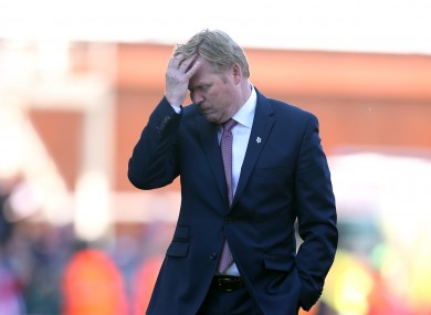 Southampton's top four bid is fading fast.