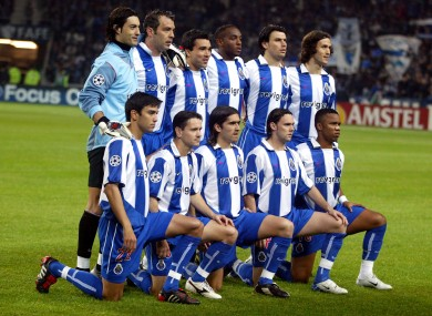 99b0692b3f73c Where are they now  The Porto team that won the Champions League under Jose  Mourinho