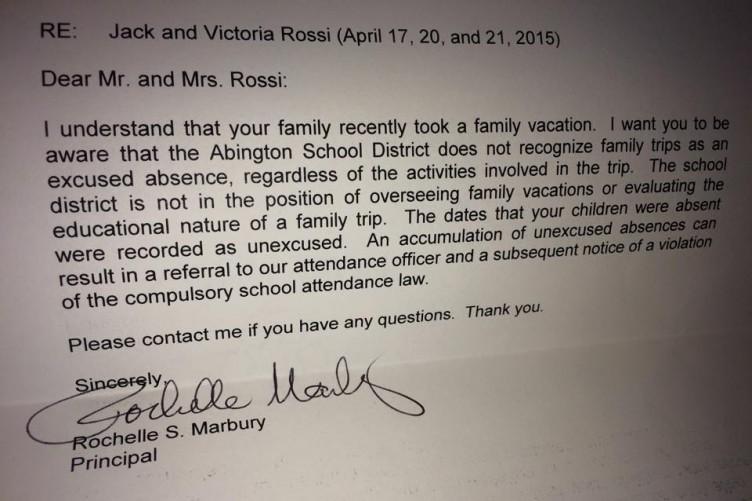 Dad Writes Excellent Letter To Principal Defending Children S