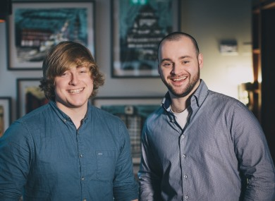 Thomas Cullen and Kevin Holler, the co-founders of Shake.io.