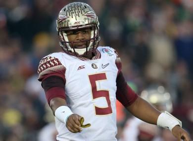 New Tampa Bay Buccaneers quarterback Jameis Winston.