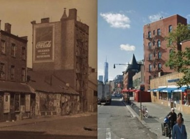 The West Village then and now.