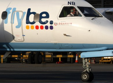 A Flybee plane. Sorry, Flybe.
