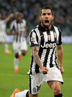 Carlos Tevez has enjoyed a new lease of life at Juventus.