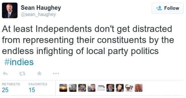What will Haughey do next?