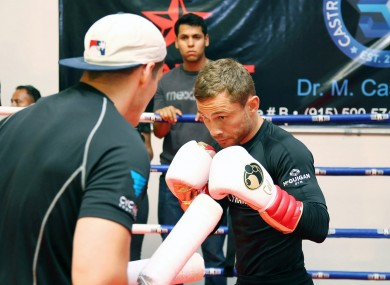 Frampton can take his record to an unbeaten 21-0 with a win on Saturday night.
