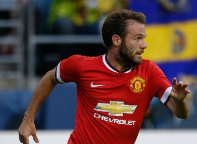 Manchester United forward Juan Mata has vowed to be among the goals this season.