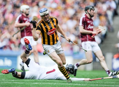 TJ Reid got the nod in the hurling.