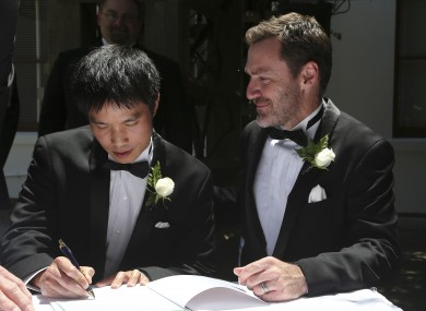 For a brief period, same-sex couples could marry in Canberra in 2013 until the law was struck down by the High Court.