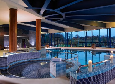 The pool at Castleknock Hotel
