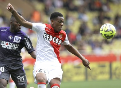 Is the Monaco striker on his way to Manchester United?