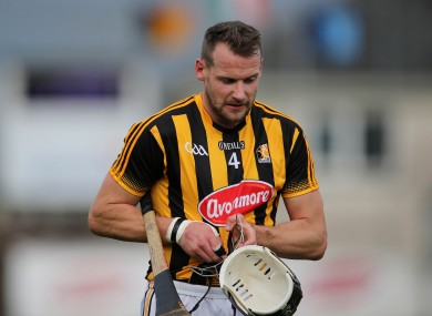 Kilkenny's Jackie Tyrrell missed the semi-final win over Waterford.