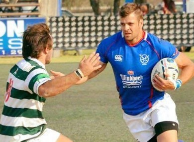 JC Greyling is heading to the World Cup with Namibia.