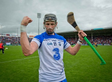Maurice Shanahan has been the star for Waterford this summer.