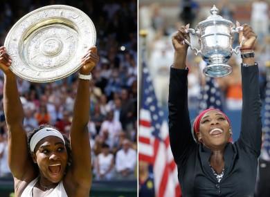 Serena has won 21 Grand Slam singles titles.