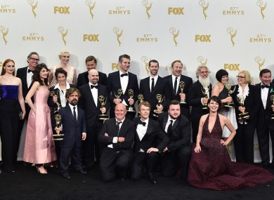 The Game Of Thrones cast and crew with ALL of their awards