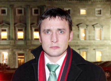 James Heffernan resigned the Labour whip in 2012.