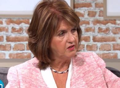 Joan Burton speaking on TVS Sunday AM this morning.