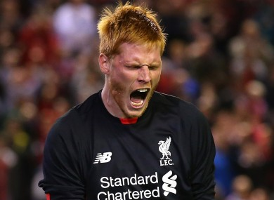 Liverpool goalkeeper Adam Bogdan helped Liverpool to a penalty shoot-out win last night.