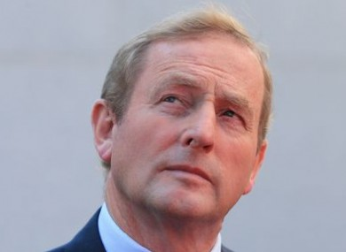 Enda Kenny dreaming of an overall majority?