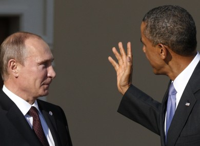Putin tar befal over ukraina