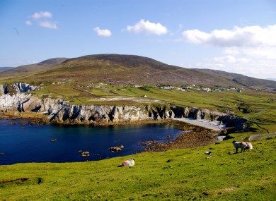 Achill Island, where the conference's networking events take place.
