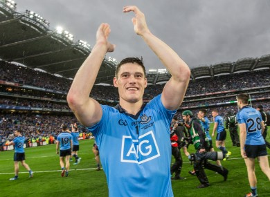 Connolly won his third All-Ireland medal with Dublin last month.