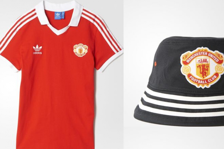 7f7214a1dcc Adidas have released a new 80s-inspired range of Man United gear and it s  outstanding