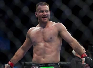 UFC heavyweight Stipe Miocic.
