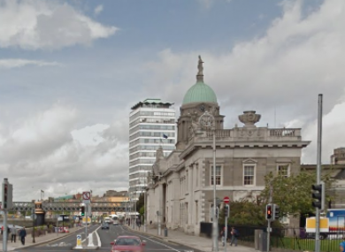 File photo: Custom House Quay, Dublin