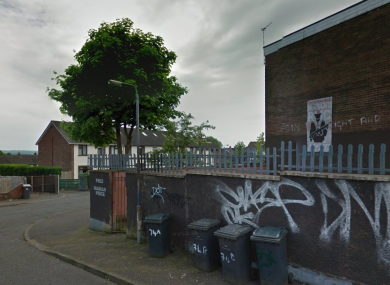 File photo: Rosnareen Avenue, Belfast