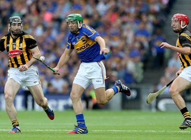 James Woodlock in action for Tipperary.