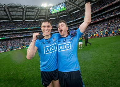 Diarmuid Connolly and Paddy Andrews won All-Ireland medals but missed out on Allstars.