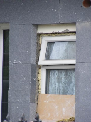 This shows poor detailing at the corners of the window.