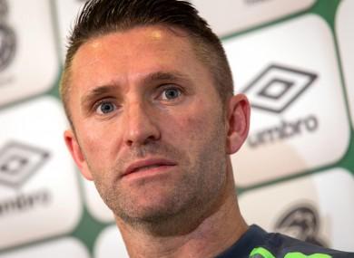 Robbie Keane has scored 67 goals in 143 appearances for Ireland.