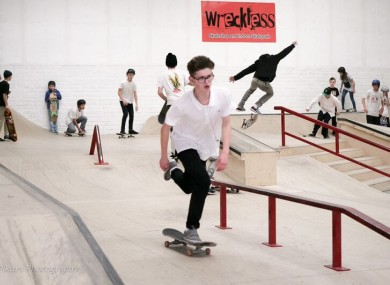 The All-Ireland Skateboarding Championship Final takes place this weekend.